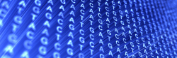 GATC letters repeated on a blue background
