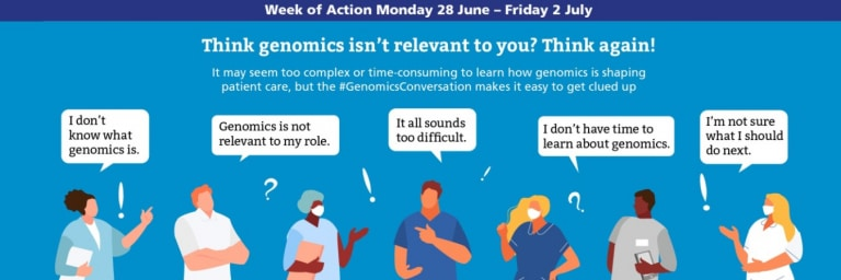 Health Professionals making comments about genomics