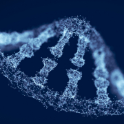Render of a DNA helix