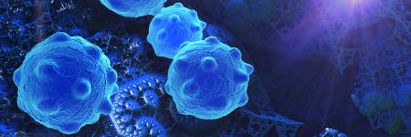 3D render of cancer cells