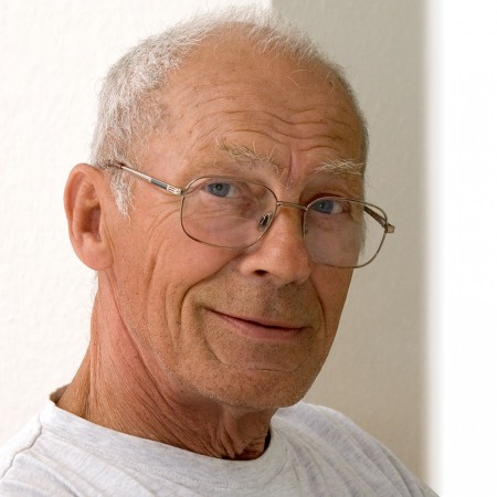 Portrait of a 70-year-old man